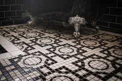 Bespoke mosaic flooring