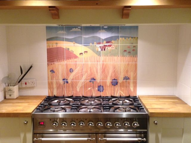 kitchen splash-back